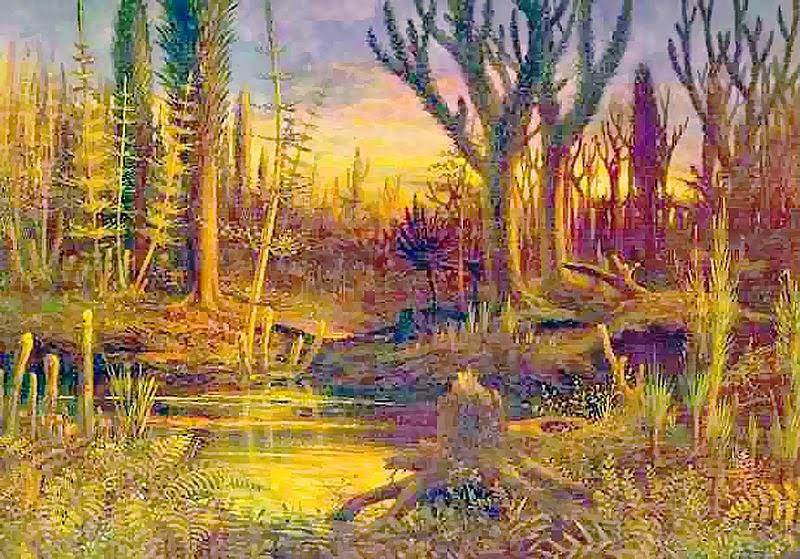 Resultado de imagem para devonian forest